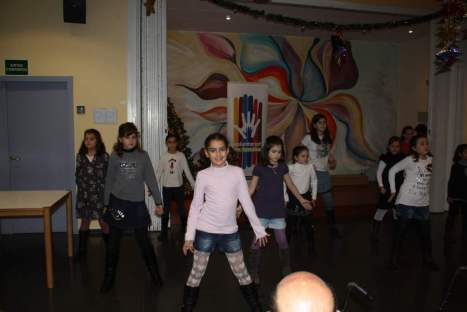 """Grup petits ballant """"Mamma Mia"""""""